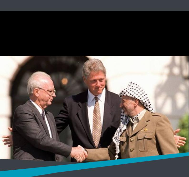 יחידה 4  – ישראל והפלסטינים בעקבות ההסכמים